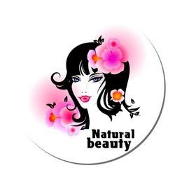Коврик круглый Natural beauty