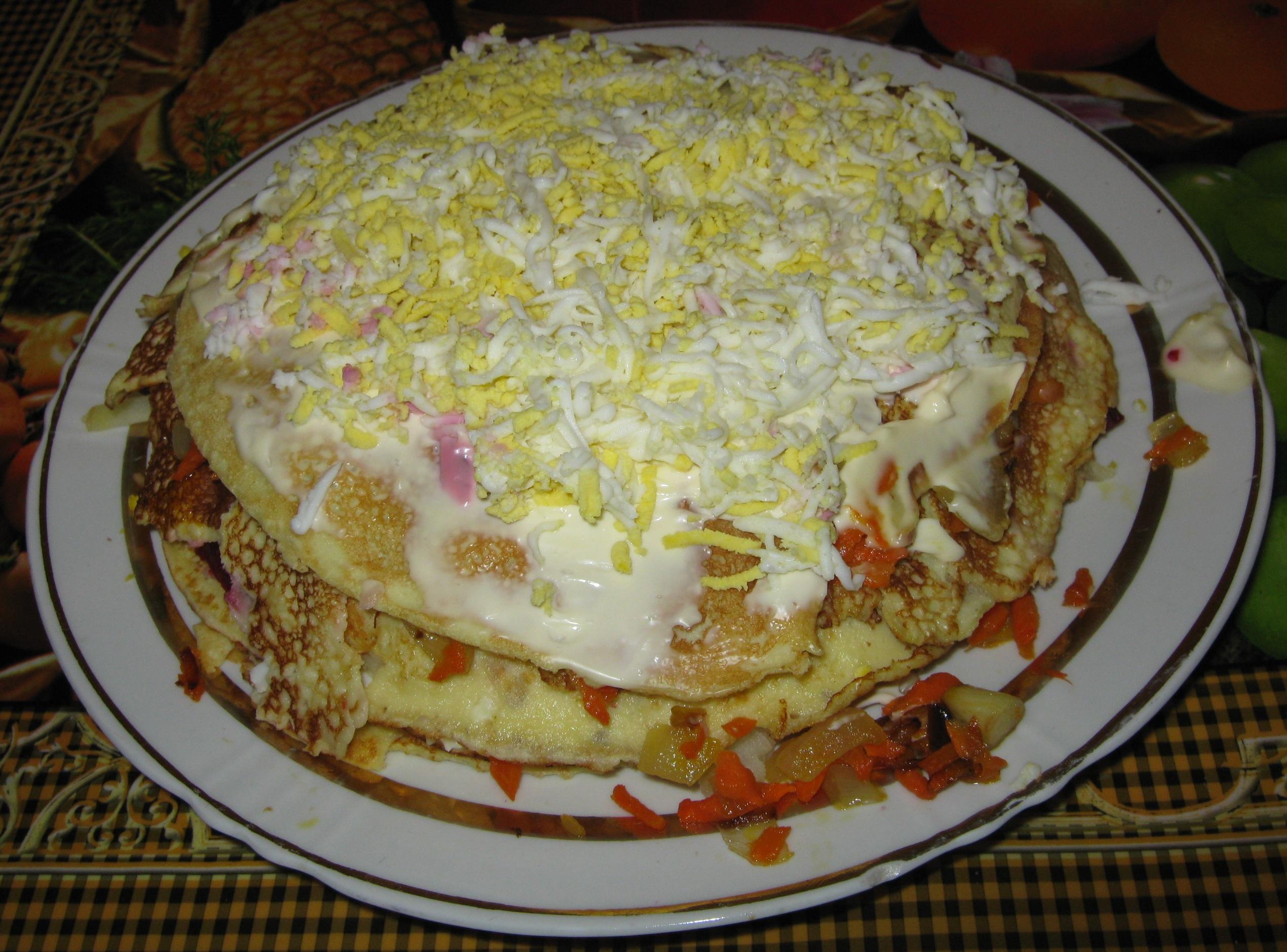 торт «Масленица»