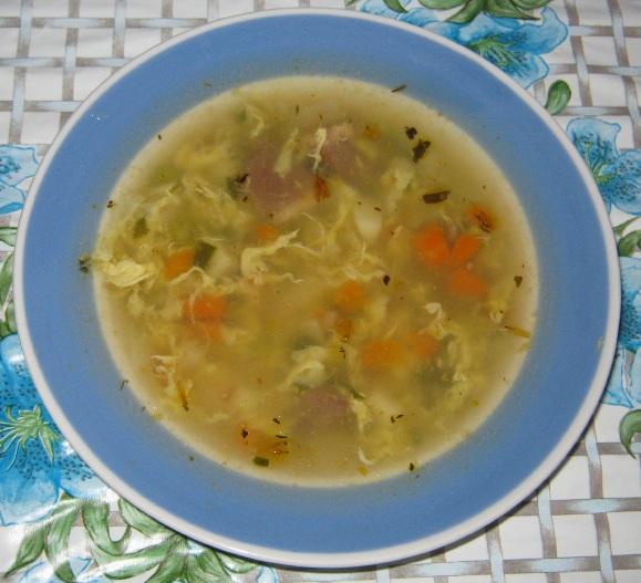 рецепты салаты с консервированным горошком рецепт с фото