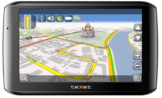TeXet TN-610 Voice HD CityGuide