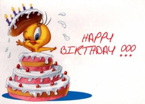 Поздравление с днем рождения, Цыпленок
