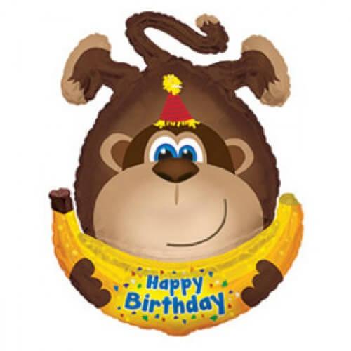 Поздравление с днем рождения, Обезьяна
