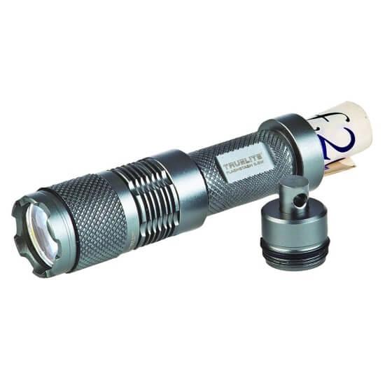 Брелок-фонарик с капсулой для денег